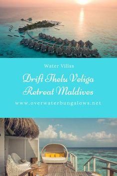 Maldives Water Villa, Maldives Honeymoon, Overwater Bungalows, Resort Villa, Island Nations, Resorts, Vacation, Vacations, Vacation Resorts
