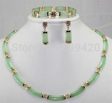 word Fine Jewelry 18K Gold Plated Quartz stone Gem Real natural Noble green jade earring bracelet necklace set,   Engagement Rings,  US $43.62,   http://diamond.fashiongarments.biz/products/word-fine-jewelry-18k-gold-plated-quartz-stone-gem-real-natural-noble-green-jade-earring-bracelet-necklace-set/,  US $43.62, US $36.20  #Engagementring  http://diamond.fashiongarments.biz/  #weddingband #weddingjewelry #weddingring #diamondengagementring #925SterlingSilver #WhiteGold