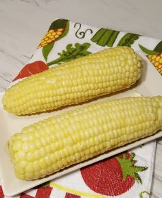 Pressure Cooker Corn on the Cob can be made on a steamer rack, or in the pot with butter, milk and salt, for a buttery infused flavor.