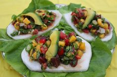 Mango Ceviche Tostadas Fish ceviche tostadas used to be one of my favorite dishes but this RAW version is so much better! It's sweet and spicy, it's fill of antioxidants, and you will feel great after eating this. Fish can be very acid to the body, replace with mango, it's alkalizing and oh so sweet,  it's absolutely one of my favorite fruits and I know many will agree!