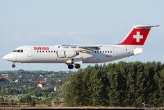 HB-IXP Swiss British Aerospace Avro RJ100