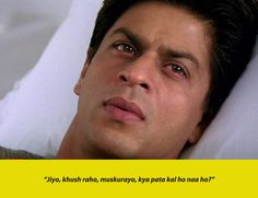 18 Iconic Bollywood Dialogues That We'll Keep Saying Till The End Of Time Best Movie Dialogues, Romantic Dialogues, Famous Dialogues, Words To Live By Quotes, Hindi Quotes On Life, Life Quotes, Bollywood Quotes, Bollywood Songs, Caption Lyrics