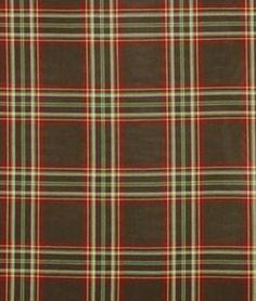Robert Allen High Post Red Hot Fabric - $50.48 | onlinefabricstore.net