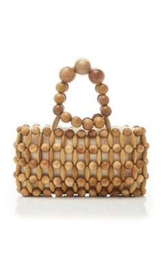 Get inspired and discover Cult Gaia trunkshow! Shop the latest Cult Gaia collection at Moda Operandi. Beaded Clutch, Beaded Purses, Beaded Bags, Diy Bags Purses, Purses And Handbags, Best Leather Wallet, Leather Totes, Leather Bags, Leather Purses