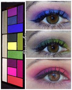 Aquí os dejo la recopilación de looks ponibles con la paleta #eatsleepmakeuprepeat de #makeuprevolution @makeup_rev_es @makeuprevolution . Cada maquillaje está hecho básicamente con el quinteto de sombras que tiene a la izquierda ( aunque no he usado las 5 sombras siempre). #eyemakeup #instamakeup #evamcobos #evamcobosbeauty #evaimnotmua #imnotmua #cosmetics #maquillaje #cosmetica #beauty #belleza #makeuplover #makeupaddict #allaboutmakeup #makeup  #ilovemakeup #makeupbyme #makeupobsessed…