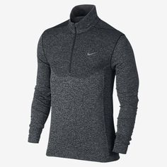 LIGHTWEIGHT LAYER OF WARMTH The lightweight Nike Flex Knit Half-Zip Men's Golf Shirt is made with sweat-wicking, stretchy fabric and ergonomic side panels for a comfortable fit and freedom to move on the course. Knit-in ventilation keeps you cool where you need it most. Benefits Lightweight seamless construction minimizes distractions Zoned ventilation adds breathability in high heat areas Stretch side panels provide natural range of motion Dri-FIT fabric helps keep you dry and comfortable…
