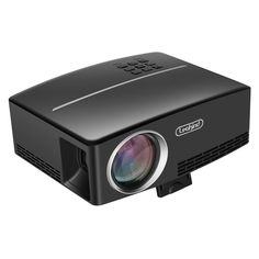 Mini Projector,Leakind GP80 Support 1080P 1800ANSI Luminous Efficiency 180  LED Portable Projector Multimedia Home Theater Video Entertainment....jpg (1500×1500)