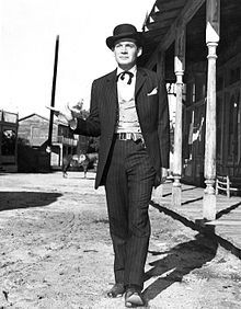 Bat Masterson is an American Western television series which showed a fictionalized account of the life of real-life marshal/gambler/dandy Bat Masterson. The title character was played by Gene Barry and the half-hour black-and-white shows ran on NBC from 1958 to 1961. The series was produced by Ziv Television Productions, the company responsible for such hit series as Sea Hunt and Highway Patrol.