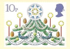 ♥ ◙ UK, Christmas Postage Stamp. ◙