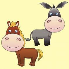 El caballo y el asno, fábula para niños. Cuentos infantiles para enseñar valores a los niños. Guiainfantil.com nos ofrece fábulas populares para educar en valores. El caballo y el asno, cuento infantil corto.