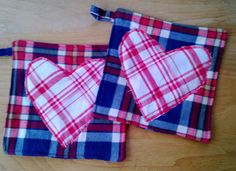 Upcycled Pot Holders Hot Mat Trivit 100 Cotton by debupcycles, $10.00
