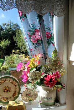 Beautiful windowsill