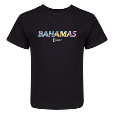 FIFA Beach World Cup Bahamas 2017 Switzerland Kids T-Shirt (Black)