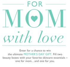 Enter for a chance to win the ultimate Mother's Day Gift