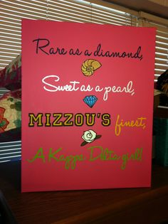 Rare as a ruby, sweet as a rose, Rhodes finest, an AOII girl