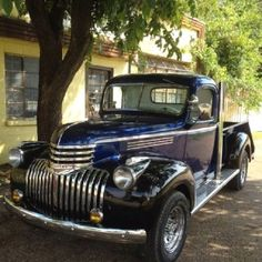 Family Truck Old Blue   1946 Chevy 3/4 Ton