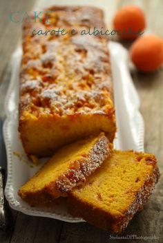 Cake carota albicocche