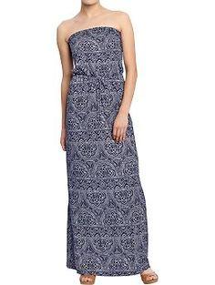 I love this dress.  Women's Tube Maxi Dresses   Old Navy