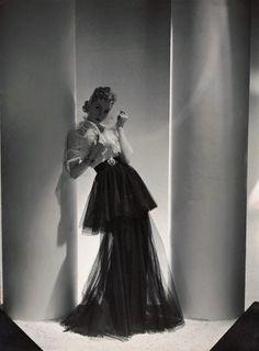 Horst P. Horst, Dress by Mainbocher, 1938