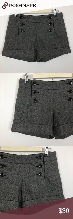 cb3d942820 Express Mini Tweed Sailor Shorts Size 4 Express Mini Tweed Sailor Shorts  Size 4 . Condition
