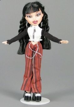 Bratz Designed By You Yasmin Replacement Shoes Red Silver Heels