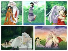One of my favorite couples!! Wish this would have come to life in the anime (Inuyasha)!