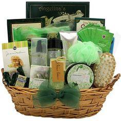 GreatArrivals Gift Baskets Gardenia Bouquet Spa Haven Bath and Body, Spa Gift Basket, 8 Pound