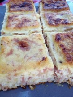Quiche without pasta - Rachel cuisine - Rowen Killimister Plats Weight Watchers, Weight Watchers Snacks, Weight Warchers, Mexican Soup Recipes, Caprese Salat, Low Carb Quiche, Quiche Recipes, Pasta, Food Print