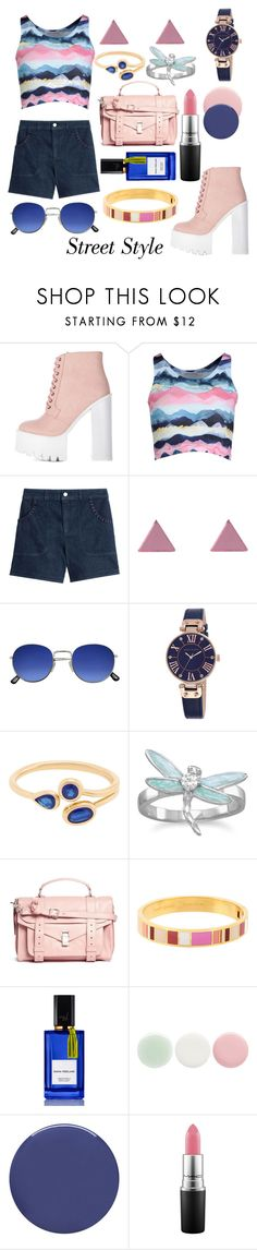 """chic"" by dixiepixiefashionista ❤ liked on Polyvore featuring Under The Same Sun, See by Chloé, Wolf & Moon, Anne Klein, BillyTheTree, Proenza Schouler, Kate Spade, Diana Vreeland Parfums, Nails Inc. and Smith & Cult"