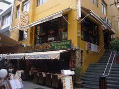 Een restaurant waar we 's middags regelmatig een dagmenu komen eten is restaurant San Luis in Los Cristianos. Het is gelegen op de eerste verdieping,...