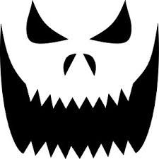 scary face pumpkin carving patterns - Google Search