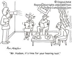 Hearing related comic