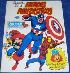 Descubre a tus heroes Fantásticos