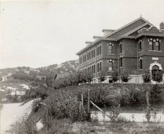 Keijo (Seoul): Union Theological School established by Methodist missioners, circa 1925