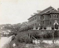 Keijo (Seoul): Union Theological School established by Methodist missioners, circa 1925