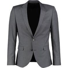 Selected Homme Marynarka garniturowa grey
