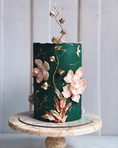 Wedding Cake Rock – All Cakes Wedding Cake Images, Wedding Cake Designs, Wedding Cake Toppers, Creative Wedding Cakes, Gorgeous Cakes, Pretty Cakes, Cute Cakes, Elegant Birthday Cakes, Elegant Cakes