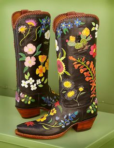 dceff0b74 46 Best floral boots images in 2019