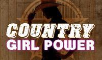 Running music mix entitled Country Girl Power from Rock My Run