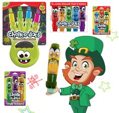 Happy St Patricks Day - Time to get out the Chalk!