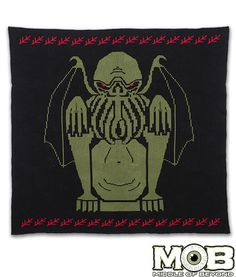 Cthulhu Lovecraft Blanket – Middle of Beyond