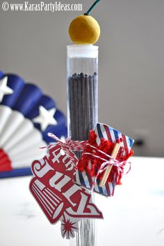 DIY 4th of July Sparkler Party Favors