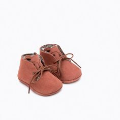 Image 4 of MINI LEATHER SHOES from Zara