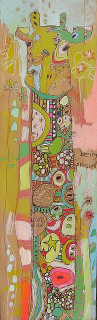 I adore anything this artist does...so sweet and amazing patterns and colors.