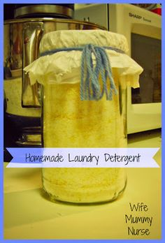 Life as a Wife, Mummy, and Nurse: Homemade Laundry Detergent and Fels-Naptha {Review}