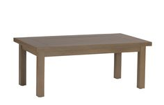 Club Aluminum Rectangular Coffee Table: Screen Porch