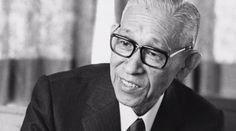 Konosuke Matsushita, businessman, the founder of Panasonic (27 November 1894 – 27 April 1989)