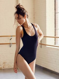 FP Movement Black Brady Bodysuit at Free People Clothing Boutique Female Pose Reference, Pose Reference Photo, Human Reference, Art Reference Poses, Pullover Shirt, Sport Outfit, Figure Poses, Poses References, Dynamic Poses