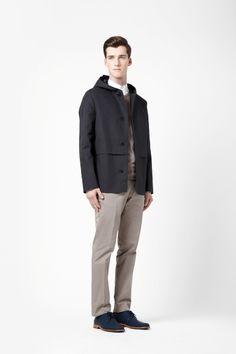 Cotton outdoor jacket