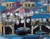 I heart Sea Shanties and Laundry line Panties Etsy Seller, Creative, Laundry, Painting, Sea, Laundry Room, Laundry Service, Painting Art, Paintings